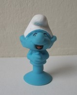- SCHTROUMPFS - Le Schtroumpf Farceur - Micro Popz. Super U - Peyo - - Smurfs