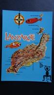 Spain - Lanzarote - Landkarte - Look Scans - Lanzarote