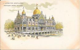 Carte Précurseur - L'EXPOSITION UNIVlle De 1900 - Pavillon Royal D'Italie - Expositions