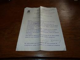 FF6  Document Commercial Facture  Fred Bayer & Cie Elberfeld 1901 - Belgique
