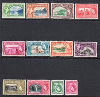 Trinidad & Tobago 1953-59 Mint Mounted, Sc# 72-83, SG 267-278 - Trinidad & Tobago (...-1961)