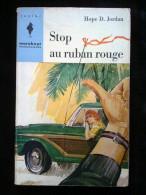 """Hope D. Jordan: Stop Au Ruban Rouge/ Marabout Junior N°185 """"Mademoiselle"""" - Livres, BD, Revues"""