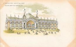 Carte Précurseur - L'EXPOSITION UNIVlle De 1900 - Palais Des Fils, Tissus, Etc - Expositions