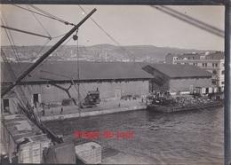 Photo Ancienne  SALONIQUE  LES QUAIS   Grèce Turquie ( 13 X 18 Cm ) - Places