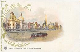 Carte Précurseur - PARIS - Exposition De 1900 - 9, Rue Des Nations - Expositions