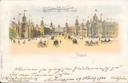 Carte Précurseur - PARIS - Exposition Universelle  De 1900 - Expositions