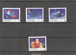 MNH Stamps Nr.416-419 In MICHEL Catalog - Lettonie