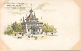 Carte Précurseur - L' Exposition UNIVlle  De 1900 - Pavillon De La République Sud-Africaine - Expositions