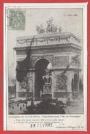 Célébritées - ECRIVAINs - VICTOR HUGO - Centenaire D'HUGO - Funérailles - Exposition Sous L'Arc De Triomphe - Ecrivains