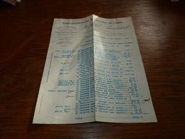 Document  Commercial Facture Léopold Bernard 1901 Phosphates De Chaux Mesvin Ciply - Belgique