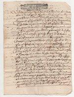 Acte  1708 - Manuscrits