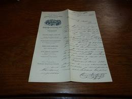 Document  Commercial Facture Alpes Maritimes, Grasse, Bernard- Escoffier Fils Parfumeurs Distillateurs 1900 - Belgique