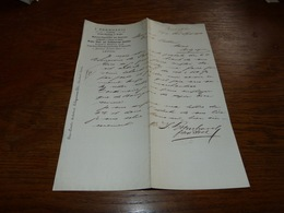 Document  Commercial Facture I Bernhardi 1900 Leipzig - Belgique
