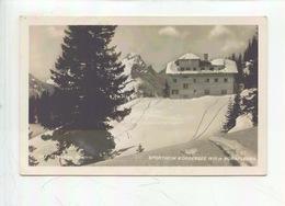 Autriche : Sportheim Korbersee 1670 M Vorarlberg - Cp Vierge - Autriche
