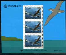 Madère YT Bloc 7 XX / MNH Europa Oiseau Bird - Madère