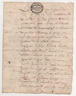 Acte  Fait à Annonay Ardèche 1792 - Manuscrits