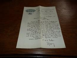 Document  Commercial Facture Beslier & Cie Tissus Et Produits Pharmaceutiques Paris 1901 - Belgique