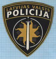 LATVIA / Patch Abzeichen Parche Ecusson /  Police.  Convoy Regiment Prison 1990s - Police & Gendarmerie