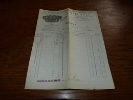Document  Commercial Facture Billault Chenal Douilhet Paris 1900 Prod. Chimiques Et Pharmaceutiques - Belgique