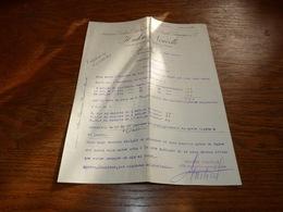 Document  Commercial Facture Huilerie Nouvelle Emile Bourgogne Et Cie Marseille 1900 - Belgique