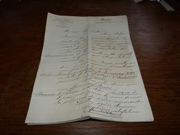 Document  Commercial Facture Blemmel Frères Hambourg 1899 Drogues Et Produits Chimiques - Belgique