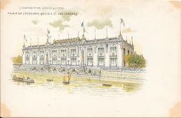 Carte Précurseur - L' Exposition UNIVlle  De 1900 - Palais De L'Economie Et Des Congrès - Expositions