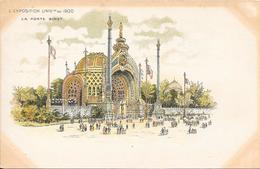 Carte Précurseur - L' Exposition UNIVlle  De 1900 - La Porte Binet - Expositions