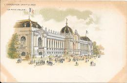 Carte Précurseur - L' Exposition UNIVlle  De 1900 - Le Petit Palais - Expositions