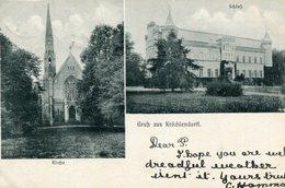 ALLEMAGNE NORDWESTUCKERMARK - Krochlendorf Gruss Aus Krochlendorff  Cachet Militaire Au Dos - Germania