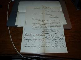 Document  Commercial Facture Bodenheimer Schuster & Co 1900 Hamburg - Belgique