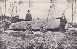 LE DOLMEN  ER GANTREPOUIS     NOUTOU AC - Dolmen & Menhirs