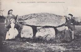 LE DOLMEN   DE KERMORVAN         MOUSTOIR AC - Dolmen & Menhirs