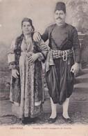 SMYRNE          COUPLE ISRAELITE ESPAGNOLE DE SMYRNE - Turquie