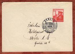 Brief, EF Fuehrer In Braunau, SoSt Deutsche Wehrfreiheit Berlin, Nach Dresden 1939 (70895) - Covers & Documents