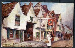 "CPA,Jotter Signierte Color Raphael Tuck Künstlerkarte""Edgware Middlesex,belebt,Nr.7128 ""1 AK Blanco - Ansichtskarten"