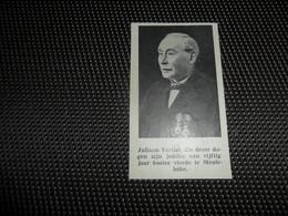 """Origineel Knipsel ( 2573 ) Uit Tijdschrift """" Ons Volk """"  1934 :   Koster Juliaan Verthé Te Meulebeke - Vieux Papiers"""