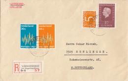 COVER NEDERLAND REGISTERED   / 4 - Timbres