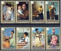 Rwanda Ruanda 1975 OCBn° 662-69 *** MNH Cote 4,50 Euro Tableaux Schilderijen - Rwanda