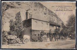 """SAINT VIGOR D'YMONVILLE - RESTAURANT """" AU CAP DU HODE """" - RESTAURATEUR """" J.FILLATRE """" - ANIMATION - BEAU PLAN - France"""