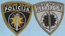 LATVIA / Patch Abzeichen Parche Ecusson /  Police.  Convoy Regiment Prison - Police & Gendarmerie