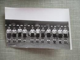 PHOTO EQUIPE DE FOOT EQUIPE ANGLAISE FRANCE ANGLETERRE MAI 1955 - Deportes