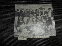 """Origineel Knipsel ( 2586 ) Uit Tijdschrift """" Ons Volk """"  1934 :   Carnaval  Karneval  Aalst  Alost - Vieux Papiers"""