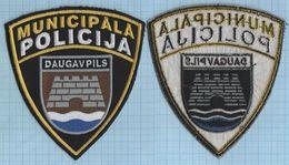 LATVIA / Patch Abzeichen Parche Ecusson /  Municipal Police. Daugavpils. - Police & Gendarmerie