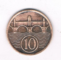 10 HALLER  1932  TSJECHOSLOWAKIJE /2351/ - Tchécoslovaquie