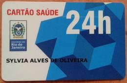 LSJP BRAZIL HEALTH CARDS - RIO DE JANEIRO - Autres Collections