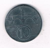 10 HALLER  1942  BOHMEN UND MAHREN  TSJECHOSLOWAKIJE /2352/ - Tschechoslowakei