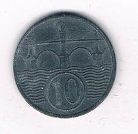 10 HALLER  1942  BOHMEN UND MAHREN  TSJECHOSLOWAKIJE /2352/ - Tchécoslovaquie