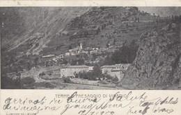 TERME DI VINADIO-CUNEO-PAESAGGIO-CARTOLINA VIAGGIATA IL 14-7-1901 - Cuneo