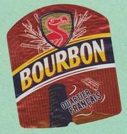 Ile LA REUNION, QUARTIER FRANCAIS, Brasseries Bourbon ,Biere Birra Cerveza Piwo Pilsen étiquettes - Bière