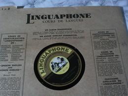 LINGUAPHONE Deutsch/allemand -cours De Langue -boîtier 16 Vinyles 78T. - 78 T - Disques Pour Gramophone